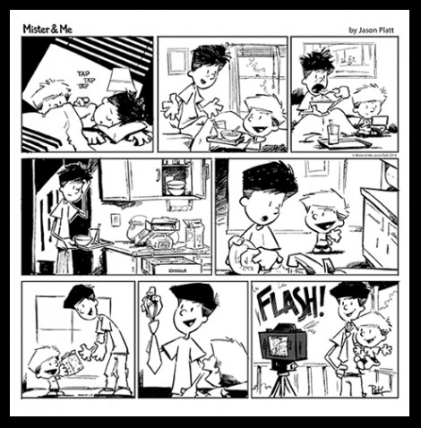 Mister & Me Father's Day Comic 2014